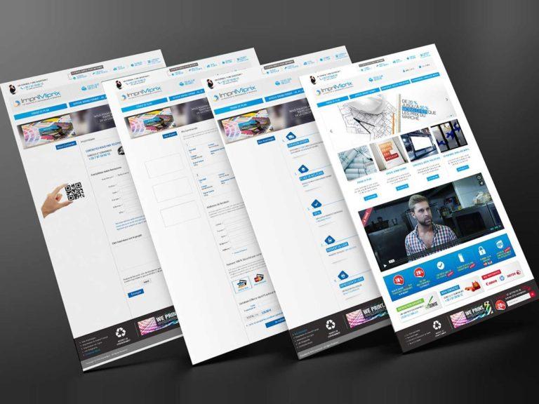 Imprimiprix Ecommerce – Website